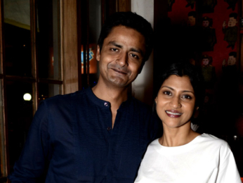 Konkona Sen Sharma attends the launch of new oulet of The Fatty Bao