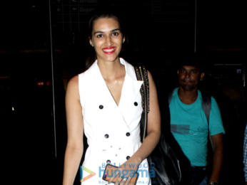 Kriti Sanon snapped at the airport