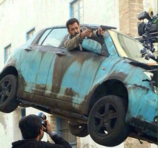 LEAKED WHOA! Salman Khan performs deadly stunt on the sets of Tiger Zinda Hai