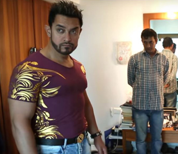 LOOK! This transformation of Aamir Khan to Shakti Kumar is intriguing and funny!