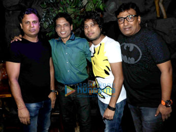 Lyricist Kumaar celebrates his birthday with friends and relatives