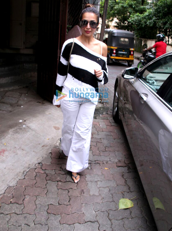 Malaika Arora snapped at Purple Haze studio