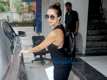 Malaika Arora snapped post meeting in Bandra