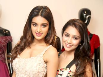 Nidhhi Agerwal graces Sonaakshi Raaj's new store launch in Delhi