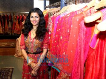 Nimrat Kaur unveils Ritu Kumar's Festive Winter campaign at her Kala Ghoda Store in Mumbai