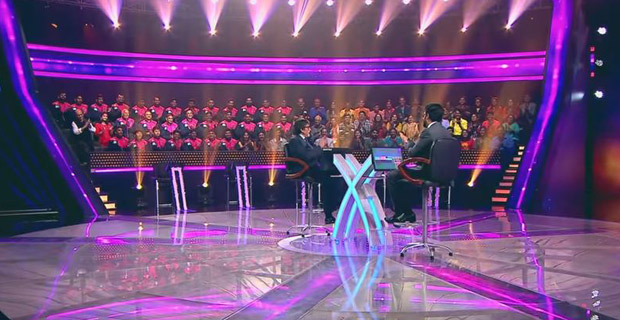 OMG! Abhishek Bachchan couldn't answer a question on football on this show and his father is surprised (2)