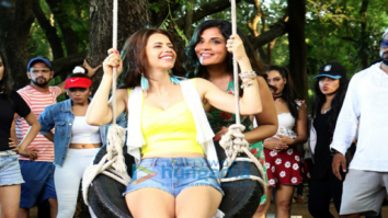 On location of 'Jia Aur Jia' at Tree House