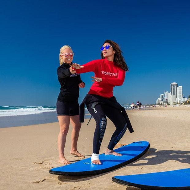 Parineeti Chopra to practice surfing with injured foot-1