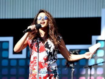 Priyanka Chopra snapped at the the Global citizen festival