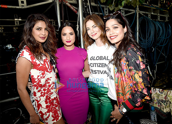 Priyanka Chopra snapped at the the Global citizen festival