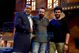 Promotions of 'Bhoomi' on The Drama Company sets