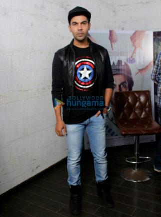 Rajkummar Rao promotes 'Newton' at Eros International office