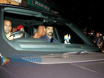 Ranbir Kapoor and Jaya Bachchan spotted at Bandra