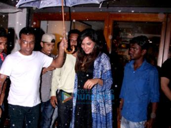 Richa Chadda snapped at Sequel Bistro