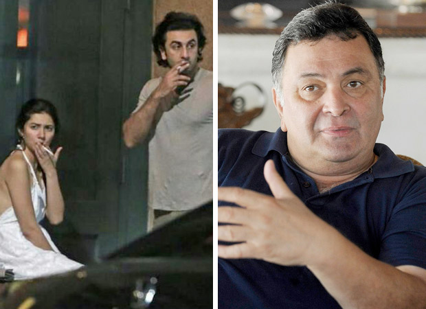 Rishi Kapoor reacts to Ranbir Kapoor - Mahira Khan leaked New York pictures