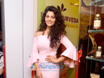 Saiyami Kher at the store launch of Birla Ayurveda