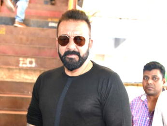 Sanjay Dutt snapped promoting the film Bhoomi