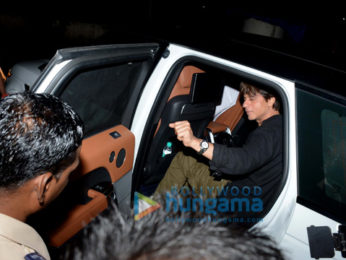 Shah Rukh Khan snapped outside Shankar Mahadevan's studio