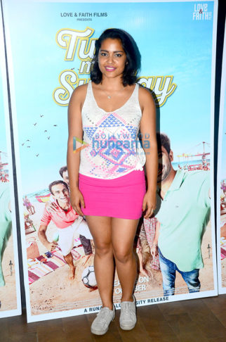 Shahana Goswami at 'Tu Hai Mera Sunday' film screening