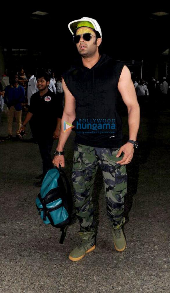 Shamita Shetty and Manish Paul snapped at the airport