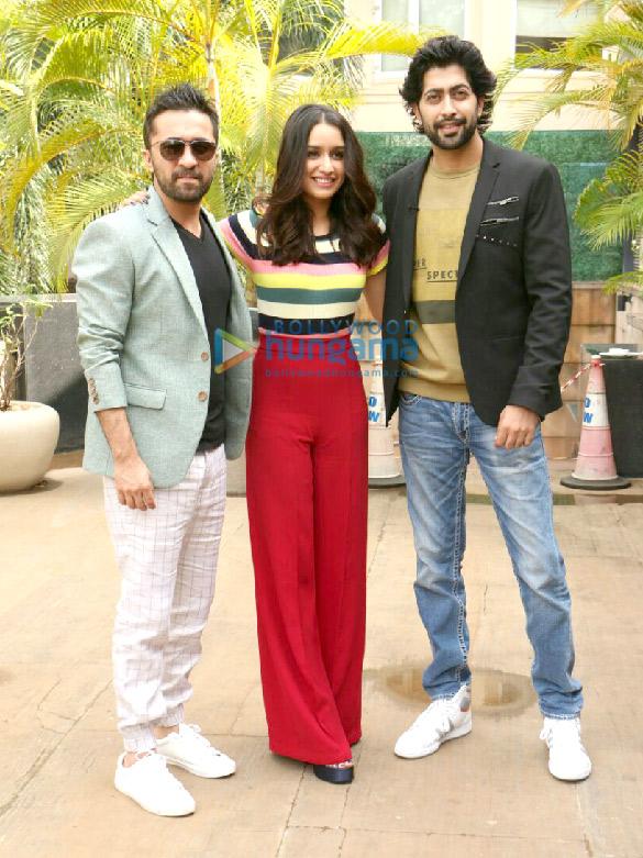 Sharaddha Kapoor and Siddhanth Kapoor promote their film 'Haseena Parkar'