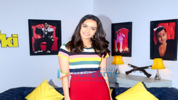 Sharadha Kapoor and Siddhanth Kapoor snapped at a TV show shoot