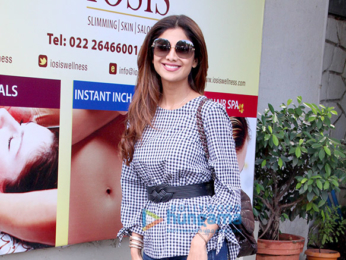 Shilpa Shetty snapped at her own spa, Iosis