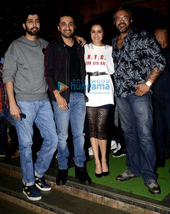 Shraddha Kapoor, Siddhanth Kapoor, Ankur Bhatia, Apoorva Lakhia promote Haseena Parkar