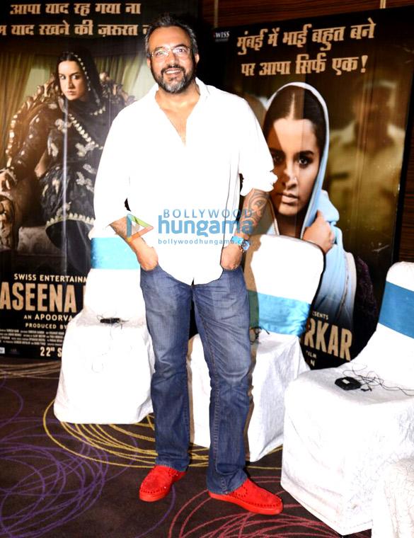 Shraddha Kapoor, Siddhanth Kapoor, Ankur Bhatia, Apoorva Lakhia promote 'Haseena Parkar'