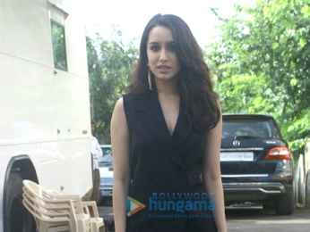Shraddha Kapoor, Siddhanth Kapoor & Ankur Bhatia promote Haseena Parker on the sets of Dance +