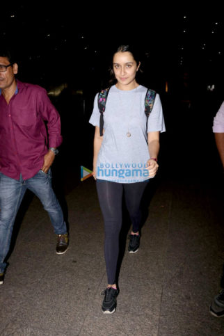 Shraddha Kapoor, Sushmita Sen and Tamannaah Bhatia snapped at the airport