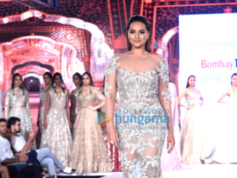 Sonakshi Sinha walks the ramp at Bombay Times Fashion Week 2017