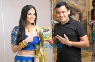 Sunny Leone shoots for Dholpur Fresh's Desi Ghee commercial