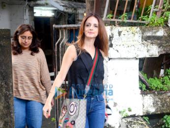 Sussanne Roshan snapped in Mumbai