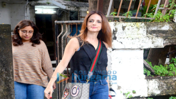 Sussanne Roshan snapped in Mumbai