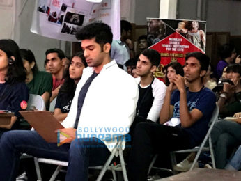 Taaha Shah graces 'Kaleidoscope' event as a judge for 'Mr and Miss K' at Sophia College