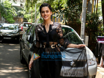 Taapsee Pannu snapped in Andheri
