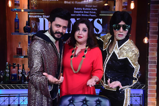 This actress battles it out with Riteish Deshmukh on Farah Khan's show-1