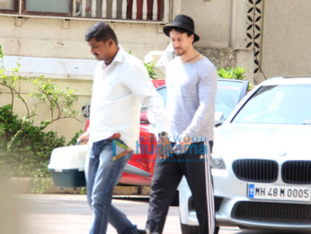 Tiger Shroff and Iulia Vantur snapped in Bandra