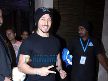 Tiger Shroff at 'Premiere Futsal 2017' press conference