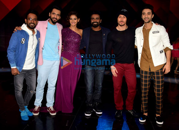 Tiger Shroff shoots for an episode of 'Dance + Season 3'