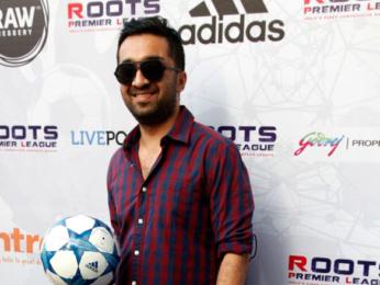Vidyut Jammwal, Dino Morea, Siddhanth Kapoor at 'Roots Premier League' launch