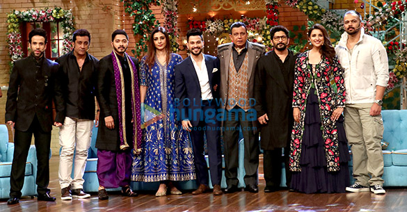 Cast of Golmaal Again snapped on sets of The Drama Company