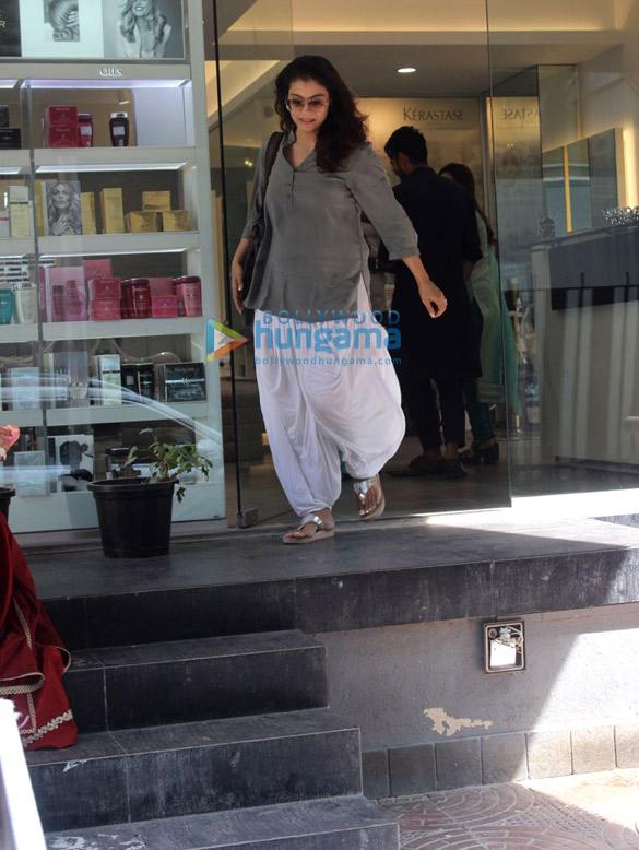 Kajol spotted at Juice Salon