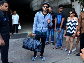 Ranveer Singh snapped at Otters Club