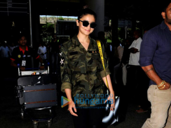 Anil Kapoor, Alia Bhatt and Karan Johar snapped at the airport