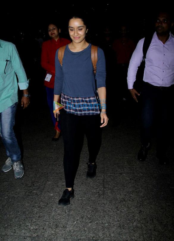 Shraddha Kapoor & Irrfan Khan snapped at the airport