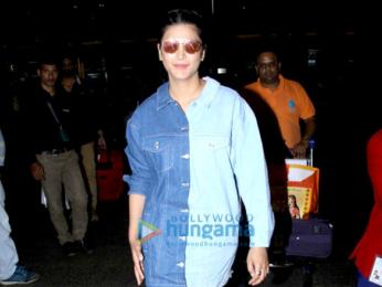Aamir Khan, Zaira Wasim, Prateik Babbar, Kim Sharma, and Aditi Rao Hydari and others snapped at the airport