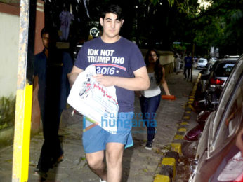 Aarav Kumar snapped in Bandra