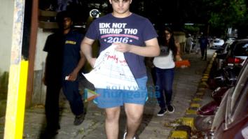 Aarav Kumar snapped in Bandra